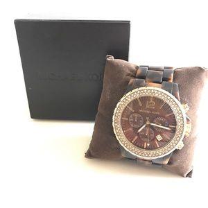 Michael Kors Accessories - Michael Kors Tortoise watch.